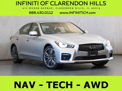 Pre-Owned 2014 INFINITI Q50 Hybrid Sport AWD
