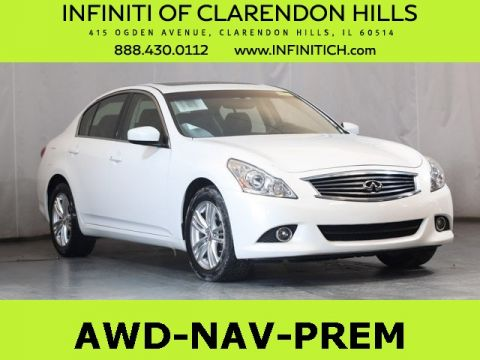 Certified Pre-Owned 2013 INFINITI G37 X AWD