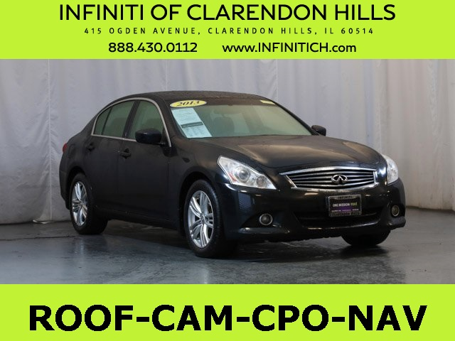 Certified Pre-Owned 2013 INFINITI G37 X